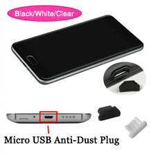 Silicone Micro USB Anti-Dust Plug Port Protective Case Skin For Cell Phone Lot
