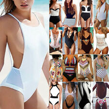 Sexy Womens Push-up Bikini Set Swimsuit Swimwear One Piece Monokini Beachwear LC