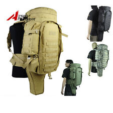 Tactical Military Molle Swat Police Extended Full Gear Dual Rifle Backpack Bag