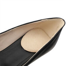 Footinsole Shoes Inserts for Heels Suede Massage Gel Heel Cushion Pad 1 Pair