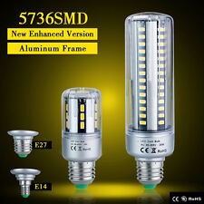 E27 5736 SMD LED Corn Lights Bulbs 5W- 25W Warm White Bright Lamp AC 85-265V US
