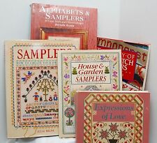 Counted Cross Stitch Sampler Books -  Lots of Patterns - You Choose