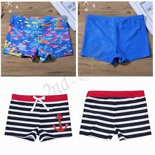 Boys Swimming Board Shorts Swim Shorts Trunks Swimwear Beach Summer Boys 2-14