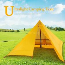 Ultralight 2 People Portable Backpacking Tent Outdoor Camping Tent Tarp New P5W1