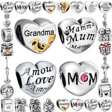 Harmony family 925 silver Pendant charms bead For PAN sterling Bracelet Necklace