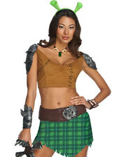 Shrek Forever After Princess Fiona Warrior Sexy Party Halloween Costume XS-L