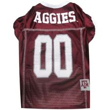 Texas A&M Aggies NCAA Pet Dog Sports Jersey (sizes) NEW