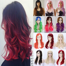 19-32 inch Synthetic Hair Wig Costume Cosplay Wigs Real Natural Heat Resistant