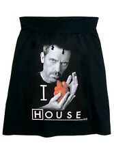 House M.D. Dr. Gregory House Hugh Laurie Photo Printed T-Shirt Aline Skirt - USA
