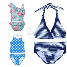2pcs Summer Kids Girls Toddler Swimwear Swimsuit Bathing Suit Bikini Tankini Set