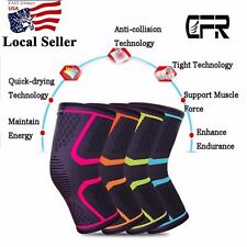 CFR Pro Breathable Patella Knee Sleeve Support Compression Brace Pain Relief US