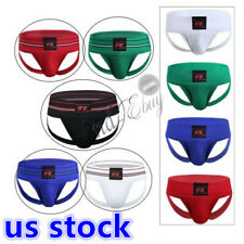 SEXY MEN'S JOCKSTRAP JOCK STRAP ATHLETIC SUPPORT SPORTS BOXER BRIEFS UNDERPANTS