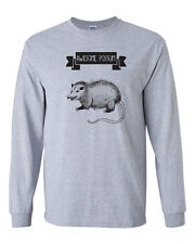 378 Awesome Possum Long Sleeve Shirt funny t-shirt mammal animal lover vegan new
