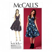 McCalls Ladies Easy Sewing Pattern 7503 Sleeveless V Neck Dresses (McCalls-75...