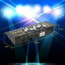 Mini 192 CH DMX Controller Console Stage Lighting Operator Equipment Bar W7Q1