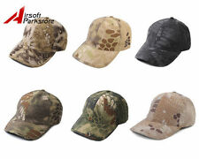 Tactical Military Hunting Combat Chief Baseball Hat Adjustable Cap Camouflage