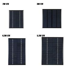 12V Polycrystalline Silicon Solar Panel Solar Cell for DIY Power Charger I5T4
