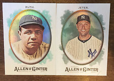 2017 Topps Allen & Ginter Baseball Hot Box Foil Complete Your Set (176-350)