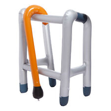 Inflatable Walking Stick Zimmer Frame Blow Up Toy Fancy Dress Party Supplies