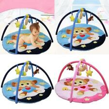 Music Baby Play Mat Floor Rug Fleece Soft Touch Blanket Activity Gym with Toys