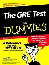 The GRE Test For Dummies (For Dummies (Lifestyles Paperback)) Vlk, Suzee Paperb