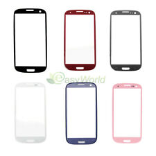 Top Front Outer LCD Screen Glass Lens Cover For Samsung Galaxy S5 S4 S3 i9300