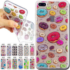 Silicone TPU Soft Back Skin Rubber Protective Cover Case For Apple iPhone 7 Plus