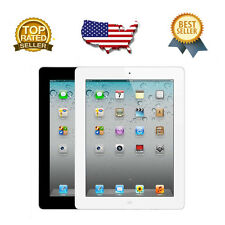 9.7in Apple iPad 2 16GB 32GB 64GB WIFI Tablet Black/White GRADE A CONDITION