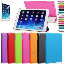 Super Slim Smart Cover PU Leather Case Stand For Apple iPad Mini 1 2 3 iPad Air