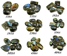 138ct-430ct Big Rare Natural Labradorite Loose Gemstones Cabs Wholesale Lot