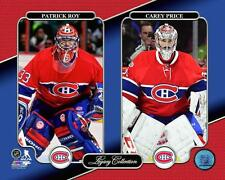 Patrick Roy & Carey Price Montreal Canadiens NHL Photo UJ248 (Select Size)