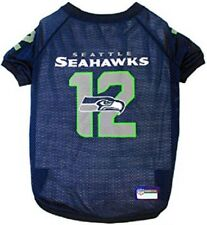 Seattle Seahawks No. 12 Collector's Jersey 12th Man NFL Pet Jersey (sizes)
