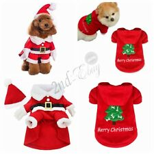 Pet Dog Cat Puppy Sweater Hoodie Coat Small Pet Dog Costume Apparel Christmas