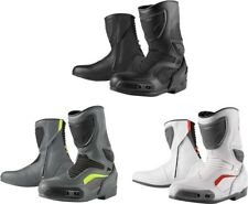Mens Icon Overlord leather CE Certified motorcycle riding boots