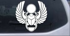 Egyptian Scarab Beetle Car or Truck Window Laptop Decal Sticker 8X7.6