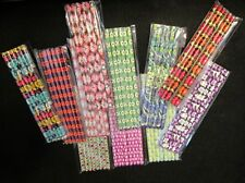 NEW VERA BRADLEY FAUX GEM PENCILS 2011 SUMMER FALL WINTER- 6 PACK or  8 PACK