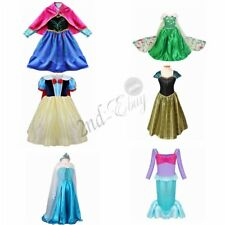 Girls Pirate Fairy Princess Halloween Costume Outfits Party Fancy Dress Up Kids