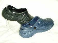 WOMENS HEY Clog Garden Slippers Assorted Sizes / Blue NWOB