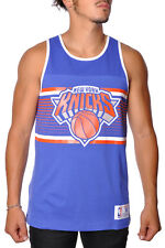 New York Knicks Surprise Win Tank Top Jersey Mitchell Ness NBA Mens