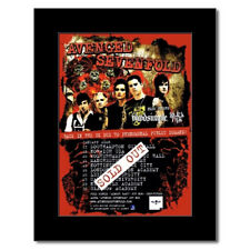 AVENGED SEVENFOLD - UK Tour 2008 Mini Poster