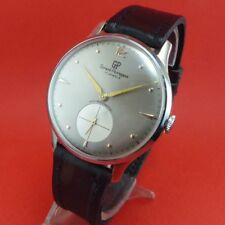 VINT GIRARD PERREGAUX 2 tones grey dial EXTREMELY BIG   Ca48 swiss made