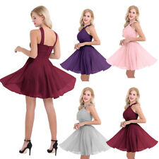 Women Formal Wedding Bridesmaid Short Evening Party Prom Gown Cocktail Dress Hot