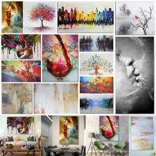 Multi Modern Abstract Canvas Print Painting Picture Wall Hanging Art Home Decor