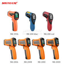 NKTECH Laser Non-contact LCD Digital Infrared IR Thermometer Temperature Gun