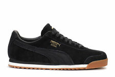 Puma Men's Sneakers Roma Natural Warmth Black Whisper White 364321-01