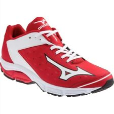 Mizuno Wave Swagger 2 Trainer Men's Baseball Turf Shoes NIB Red/White 10.5