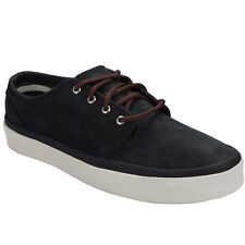 Unisex Vans 106 Vulcanized Ca Trainers In Black From Get The Label