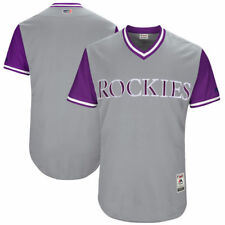 Colorado Rockies MLB Authentic Little League World Series Team Jersey Baseball