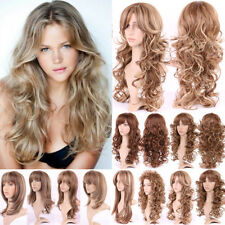 Women Long Straight Wigs Fashion Cosplay Costume Anime Hair Party Full Wigs Bhy3