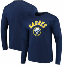 Buffalo Sabres Fanatics Branded NHL Men's Hpb Arch Long Sleeve  T-Shirt - Navy